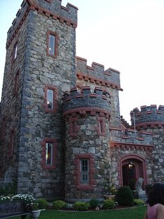"Castle in the Clouds, Moultonborough, New Hampshire, USA - the ""Queen"" will be visiting this in June 2016"