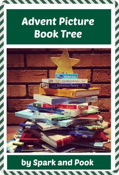 One of the items on our Christmas Bucket List is the Advent Picture Book Tree. There are different ways of doing this fun holiday activity. The goal is to gather 25 Christmas/winter themed books, stack Christmas Books, A Christmas Story, All Things Christmas, Kids Christmas, Christmas Decor, Snow Activities, Winter Activities For Kids, Christmas Activities, Winter Fun