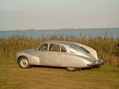 1948 Tatra T87 - I've never seen anything like this.