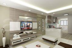 Hall Design, Pop Design, House Furniture Design, House Design, Tv Walls, Tv Unit, Dream Homes, Interior Ideas, Living Room Designs