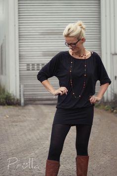 Raglansweater Alice Nähanleitung und Schnittmuster in A4 - Nähanleitungen bei Makerist