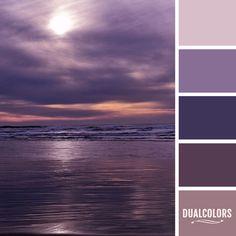 Color En Paleta 154... #colors #paletadecolores #paleta Paint Color Schemes, Colour Pallette, Purple Paint Colors, Color Mixing Chart, Grape Color, Color Psychology, Color Balance, Colour Board, Coordinating Colors
