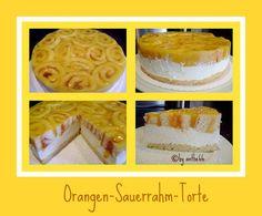 'Orangen-Sauerrahm-Torte'
