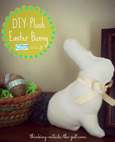 DIY: Plush Easter Bu