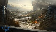 Isaiah Sherman – a freelance concept and matte artist discussed the main questions of game world building, the importance of concept art and the future of the art in games.