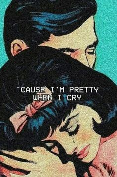 Lana Del Rey #LDR #Pretty_When_You_Cry #pop_art