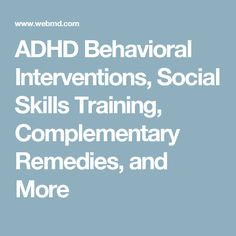 Behavioral Treatments For Kids With Adhd >> 10 Best Adhd Resources And Interventions Images Disorders Adhd