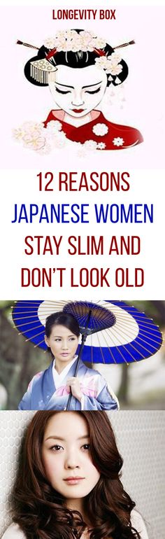 These Are The 12 Reasons Japanese Women Stay Slim and Don't Look Old - Your Healthy Tips Home Beauty Tips, Natural Beauty Tips, Beauty Trends, Beauty Secrets, Diy Beauty, Look Older, Look Younger, Younger Skin, Autogenic Training