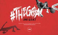The G.O.A.T - The NBA's Greatest  website