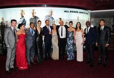 fast and furious cast | ... Association - Sun Kang, far right, with the Fast And Furious 6 cast