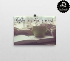 When there is no one to hug you... coffee is there for you! #motivationalquotes #RetroCameraArt