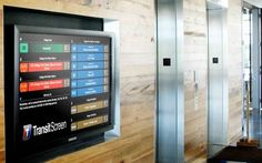 These Real-Time Transit Screens Belong in Every Lobby