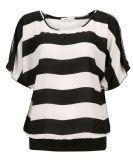 Wide Stripe Dolman Sleeve Top, Black/White Stripe, hi-res Wide Stripes, Black White Stripes, Black And White, Cute Tops, My Style, How To Wear, Sleeve, Store, Women