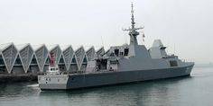 Military and Commercial Technology: 1st foreign ship arrives for PLA Navy celebrations