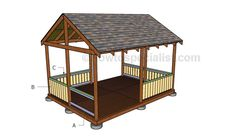 Screened Gazebo Plans – HowToSpecialist – How to Build, Step by Step DIY Plans