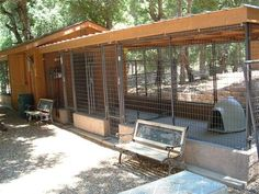 Free Plans and Information for Building Outdoor Dog Kennels