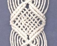 Handcrafted by Elaine - macrame instructions - variations 7