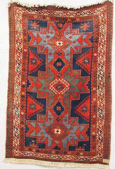 Kasak, um 1920, 205 x 140cm, Zustand C