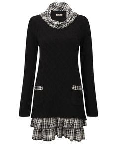 """Joe Browns"" Joe Browns Easy Livin Sweater Tunic at Simply Be"