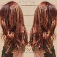 cool+toned+red+hair