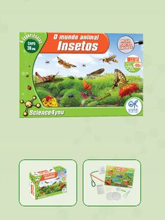 O MUNDO ANIMAL - INSETOS  Descobre: - O que são insetos - Como respiram estes seres vivos - O que é a entomologia forense - Quantas espécies de formigas existem - Que métodos utilizam os cientistas para identificar insetos
