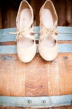 Cute nude heels.