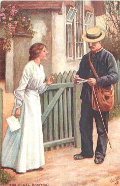 The rural postman, 1909
