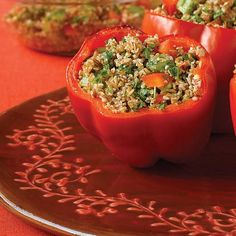 Red Pepper Tabouli - Clean Eating - Clean Eating