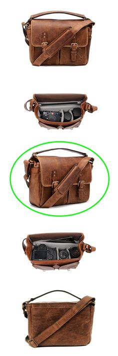 0eeeef3fa7 ONA - The Prince Street - Camera Messenger Bag - Antique Cognac Leather   vintage
