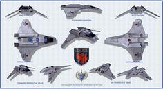 Valkyrie fighter-shuttle schematic