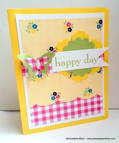 Happy Day by BernieB - Cards and Paper Crafts at Splitcoaststampers