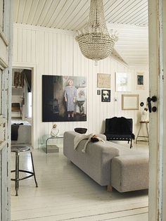 an eclectic home in norway by the style files, via Flickr