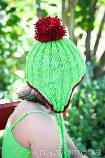 Ravelry: Fancy Ribby Hat pattern by Elena Nodel