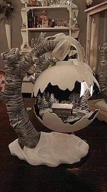 Preparando la Navidad - La profe de San Mateo na Stylowi.pl - #Decoracionnavidad #Decoraciónnavideña #Manualidadesdecoracion #Manualidadesnavidad #Manualidadesnavideñas #Navidadrústica