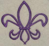 Free Fleur-de-lis Louisiana Embroidery Designs. Go Louisiana Saints New Orleans