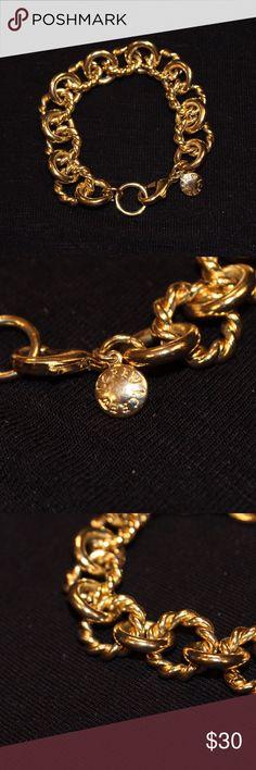 Gold J. Crew Bracelet Adorable gold link bracelet from J Crew. J. Crew Jewelry Bracelets