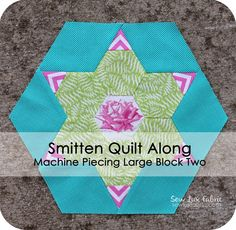 Sew Lux Fabric : Blog: Smitten Quilt Along : Large Block Two
