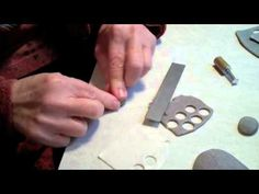 Polymer Clay - Tutorial   Wishing stone in polymer clay
