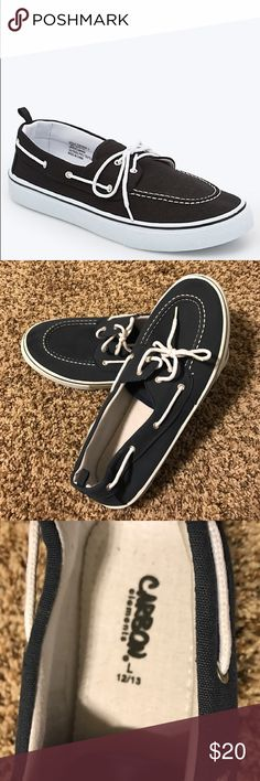 Topsider Shoes Navy Carbon Elements topsiders worn once! Carbon Elements Shoes Boat Shoes