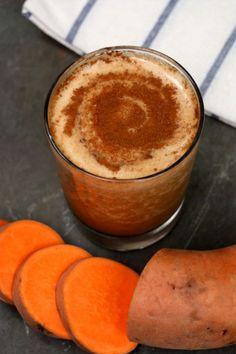 Sweet Potato Pie Smoothie Recipe by Green Blender