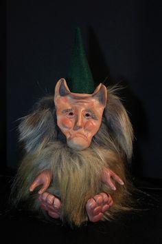 #artdoll #troll #ooak #ooakdoll #handmade #handmadedoll #plushie #fuzzy #furry #squishy #polymerclay #polymerclaydoll #gnome #goblin #monster #monsterdoll #art #clay #unusual #unique #refabrications #sculpted #sculpt #fur #fauxfur #fantasy #woodland #creature