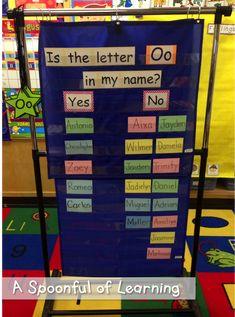 Arts And Crafts Paper Preschool Names, Preschool Education, Preschool Learning, Kindergarten Classroom, Literacy Activities, Kindergarten Activities, Alphabet Activities, Preschool Ideas, Preschool Attendance Ideas