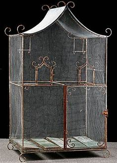 Vintage Chinese birdcage <3
