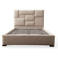 Connor Beige Bed in Queen Drawing inspiration from Hollywood design, we introduce the Connor bed.
