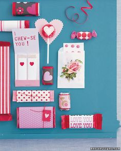 Make store-bought treats feel more special by wrapping them in pretty patterned paper.