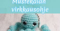 Tällä kertaa on luvassa pieni mustekala. Crochet Hats, Diy, Knitting Hats, Do It Yourself, Bricolage, Handyman Projects, Crafting, Diys
