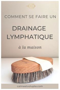A brush and 5 minutes is all you need to do a lymphatic drainage at home. Your body will be toned, refined and you will feel full of energy. Diy Beauty, Beauty Hacks, Serum, Thing 1, Hair Images, Dry Brushing, Teeth Whitening, Ayurveda, Natural Remedies