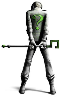 See Batman Arkham City: The Riddler on our superhero and sci-fi art and images gallery. Batman Arkham City, Batman Arkham Knight, Joker Batman, Batman Arkham Series, Batman Art, Gotham City, Batman Stuff, Batman Robin, The Riddler