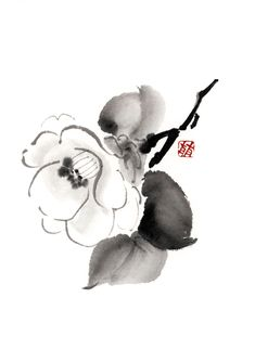 60 Top Sumi E Ink Pictures, Photos, & Images - Getty Images Japanese Ink Painting, Sumi E Painting, Japanese Drawings, Chinese Painting, Chinese Art, Chinese Brush, India Ink, Tinta China, Korean Art
