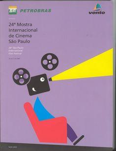 24ª Mostra Internacional de Cinema (2000)-Cartaz: Guto Lacaz